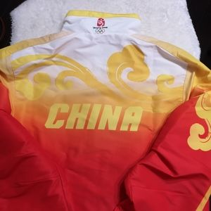 Authentic Adidas 2008 Beijing Olympics Jacket, Med